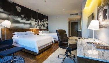 Double suite Krystal Urban Guadalajara Hotel Guadalajara