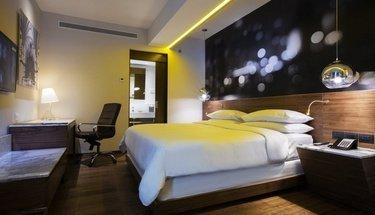 Standard king Krystal Urban Guadalajara Hotel Guadalajara