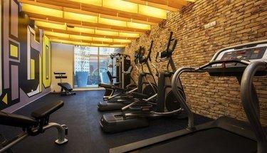 Fitness center Krystal Urban Guadalajara Hotel Guadalajara