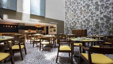 Restaurant Krystal Urban Guadalajara Hotel Guadalajara